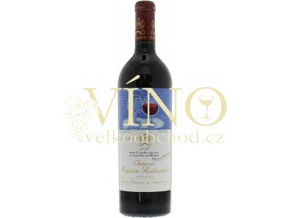Château Mouton-Rothschild 1er Cru Classé 2014 0,75 l francouzské červené víno
