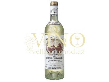 Château Carbonnieux Blanc Grand Cru Classé de Graves 0,75 l suché francouzské bílé víno z Bordeaux