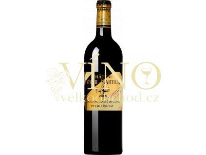 Château Latour-Martillac Grand Cru Classé de Graves 2014 0,75 l suché francouzské červené víno z Bordeaux