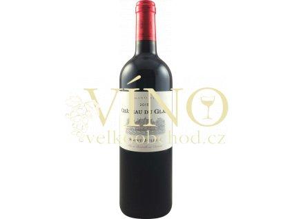 Château Du Glana Cru Bourgeois 2015 0,75 L suché francouzské červené víno