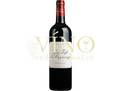 Les Fiefs de Lagrange 2014 0,75 L suché francouzské červené víno