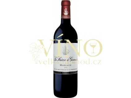 La Sirene de Giscours 0,75 l červené francouzské víno