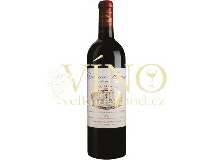 Château Kirwan 3´éme Cru Classé Margaux 2016 0,75 l červené francouzské víno
