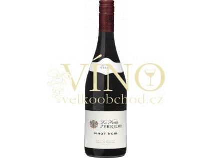 """Pinot Noir """"Le Petite Perriere"""" VDF 0,75 l francouzské červené víno"""