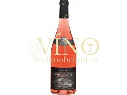 Rosé de Loire, Touraine AOC francouzské růžové suché víno