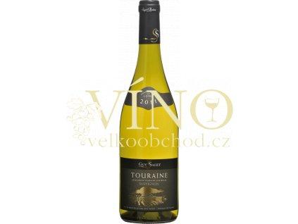 Touraine Sauvignon Domaine Guy Saget francouzské bílé suché víno