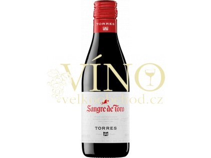 Torres Sangre de Toro Garnacha 0,188 l španělské červené suché víno