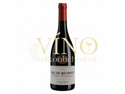 vyr 471Coteaux Bourguignons rouge 2014 Duc De Belmont Jean Loron