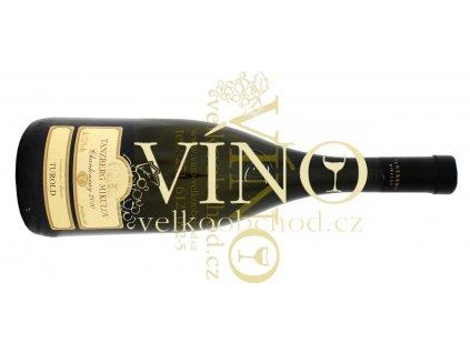 Akce ihned Tanzberg Chardonnay 2010 pozdní sběr 0,75 L suché moravské bílé víno