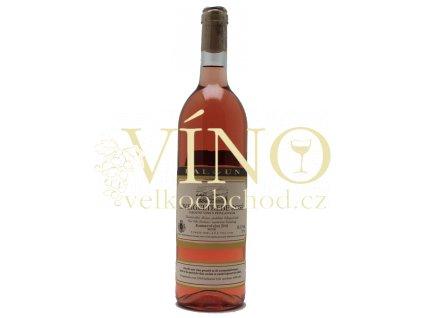 Baloun Zweigeltrebe Rosé 2018 kabinetní 0,75 l suché moravské růžové víno