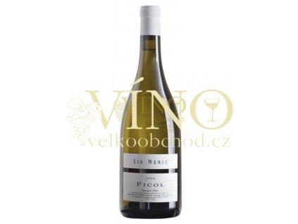 Lis Neris Picol Sauvignon DOC 2016 0,75 l italské bílé víno z oblasti Friuli