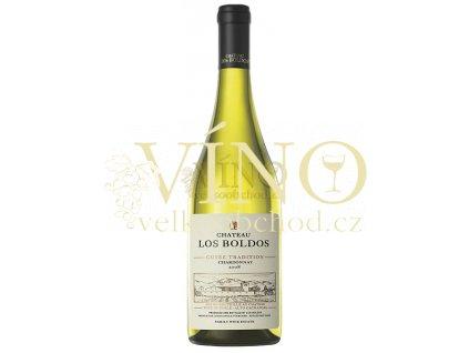 Santa Amalia Chateau Los Boldos Chardonnay chilské bílé víno z oblasti Rapel Valley
