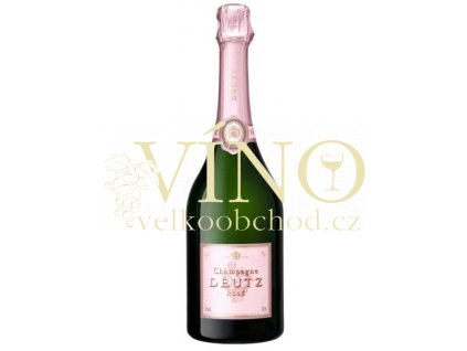 Champagne Deutz Brut Rosé 0,375 l francouzské šampaňské