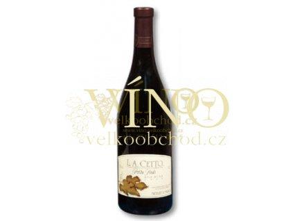 Víno - Luis Augustin Cetto Petite Syrah Valle de Guadalupe