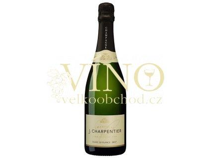 Champagne J.Charpentier Blanc de Blancs Brut 0,75 l francouzské šampaňské