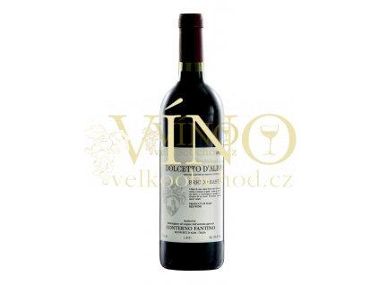 Conterno Fantino Dolcetto d´Alba Bricco Bastia DOC 2017 0,75 l italské červené víno z oblasti Piemonte