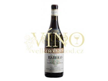 Conterno Giacomo Barolo Cascina Francia DOCG 2012 0,75 l italské červené víno z oblasti Piemonte