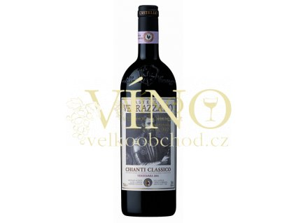 Castello di Verrazzano Chianti Classico DOCG 2016 0,375 l italské červené víno z oblasti Toscana