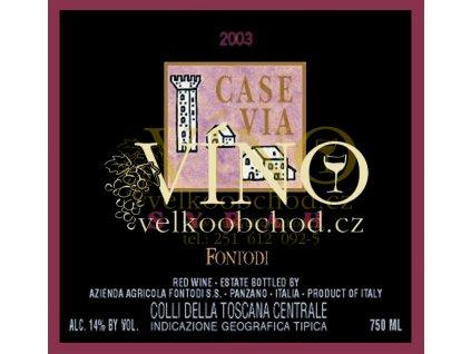 Fontodi Syrah Case Via IGT 2011 0,75 L italské červené víno z oblasti Toscana