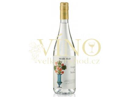 Distilleria Marolo Grappa di Barbera 0,7 l 40% italská grappa z Piemonte
