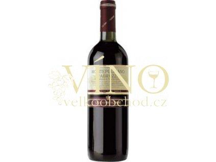 Akce ihned Chiantigiane Montepulciano d Abruzzo Doc Loggia del Sole 0,75 l italské červené suché víno