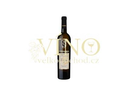 Víno - SPIELBERG Pinot blanc AUSTERLITZ pozdní sběr 2009, suché