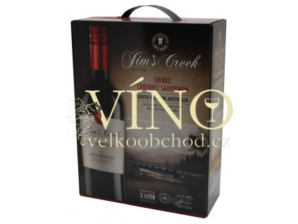Jim's Creek Shiraz - Cabernet 3 l suché červené bag in box BIB