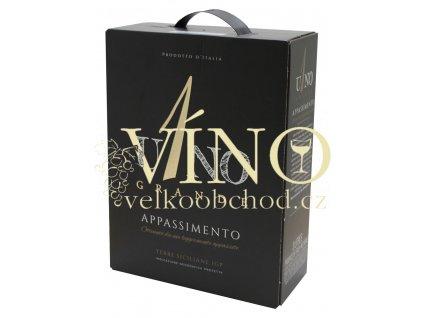 Uno Grande Appassimento 3 l suché červené bag in box BIB