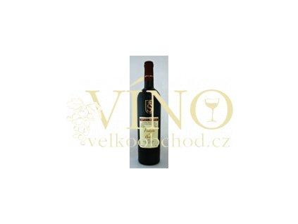 Víno - SPIELBERG Frankovka & André pozdní sběr, suché 2008