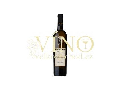 Víno - SPIELBERG Veltlínské zelené pozdní sběr 2011, suché