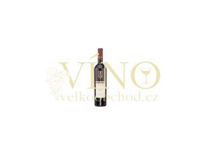 Víno - SPIELBERG André pozdní sběr, suché 2007