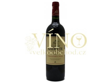 Kanonkop Kadette Cape Blend 2018 jihoafrické červené víno z oblasti Stellenbosch