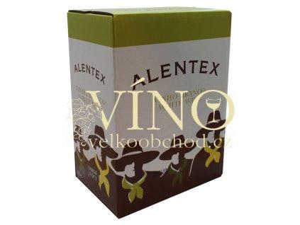 Alentex 5l Bag in Box suché portugalské bílé víno