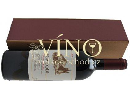 Akce ihned Fontodi Chianti Classico DOCG 2016 0,75 l italské červené víno z oblasti Toscana v dárkové kazetě