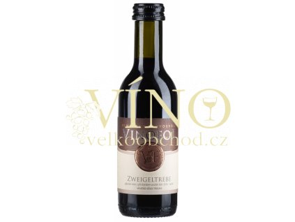 Víno Zweigeltrebe  pozdní sběr červené suché 2016 0,187 l, Vinofol Novosedly