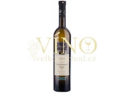 Víno Chardonnay pozdní sběr suché 2018 0,75 l Vinofol Novosedly