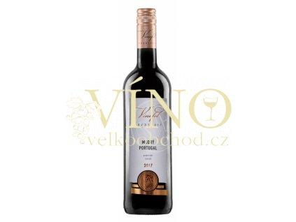 Víno Modrý Portugal pozdní sběr suché 2017 0,75 l Vinofol Novosedly