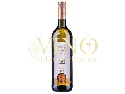 Víno Ryzlink Vlašský pozdní sběr polosuché 2017 0,75 l Vinofol Novosedly