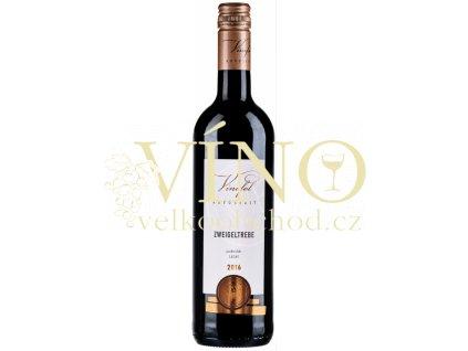 Víno Zweigeltrebe Pozdní sběr suché 2019 0,75 l Vinofol Novosedly