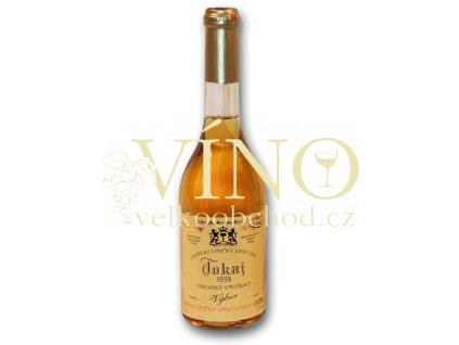 Víno - CHATEAU VINIČKY Tokajský výběr 3 putňový 0.5L