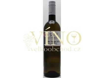 Kosík vinařství z Tvrdonic Müller Thurgau 2018 výběr z hroznů 0,75 l suché bílé víno