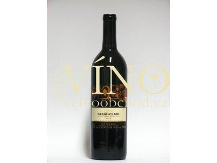 Sebastiani Winery Zinfandel 0,75 L suché kalifornské červené víno ze Sonoma County