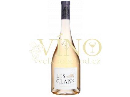 Les Clans Rose de Provence