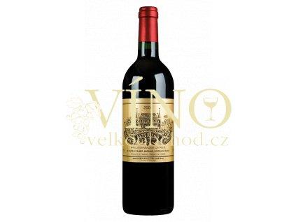 Víno - Chateau Palmer Alter Ego de Palmer, Margaux AOC, 2007
