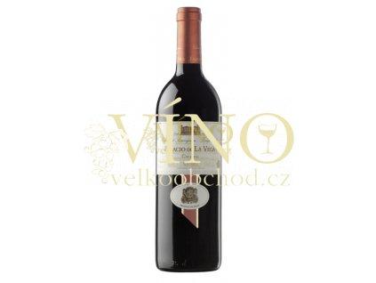 Palacio de la Vega Crianza Cabernet Sauvignon - Tempranillo 0,75 L španělské červené suché víno z oblasti La Navarra DO