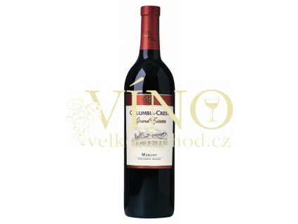 Columbia Crest Grand Estates Merlot americké červené víno z oblasti Washington State