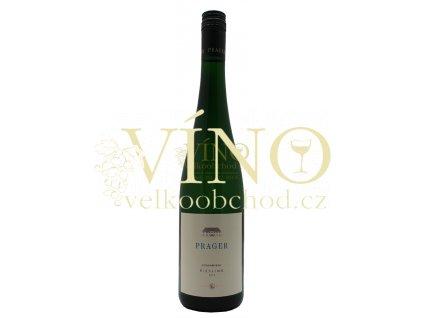 Weingut Prager Riesling Federspiel Steinriegel rakouské bílé víno z oblasti Wachau