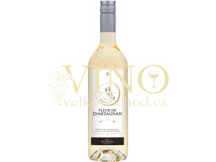 Plaimont Fleur de D'Artagnan Blanc VDP francouzské bílé víno z oblasti Cotes de Gascogne