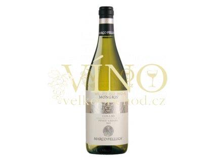 Marco Felluga Pinot Grigio Mongris DOC italské bílé víno z oblasti Friuli