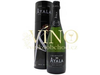 Champagne Ayala Brut Majeur 0,75 l francouzské šampaňské v plechové tubě